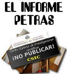 EL INFORME PETRAS. CENSURADOc